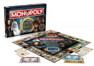 Monopoly Lord of the Rings Edition (Angol nyelvű) Ajándéktárgyak