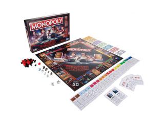 Monopoly Stranger Things (Angol nyelvű) Ajándéktárgyak