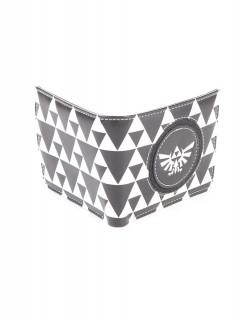 Nintendo Zelda Black and White - Pénztárca Ajándéktárgyak