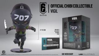 Rainbow Six Siege - Vigil Chibi Figura Ajándéktárgyak