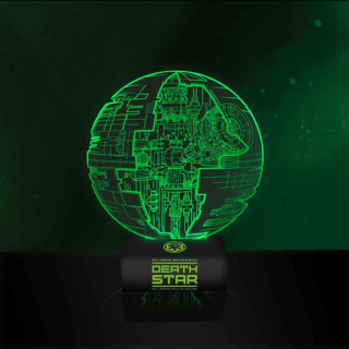 Star Wars Death Star Light EP8 - Lámpa Ajándéktárgyak