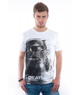 Star Wars Death Trooper White - Póló - Good Loot (L-es méret) Ajándéktárgyak