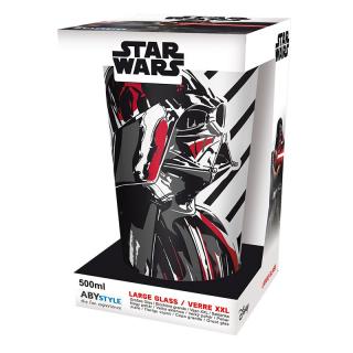 STAR WARS - Large Glass - 460ml - Vader - box - Nagy pohár Ajándéktárgyak