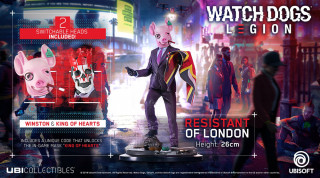 Watch Dogs Legion: Resistant of London figura Ajándéktárgyak