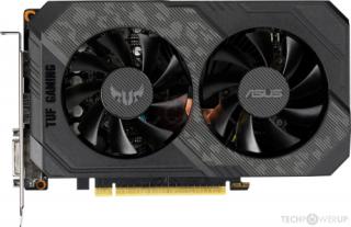 ASUS videokártya nVidia TUF-GTX1660-6G-GAMING GDDR6 6GB videokártya PC