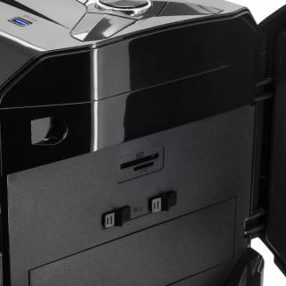 Spirit of Gamer Számítógépház - ROGUE 2 RGB (fekete, ablakos, 3x12cm ventilátor, ATX, mATX, 1xUSB3.0, 2xUSB2.0) PC