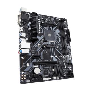 Gigabyte Alaplap - AMD B450M S2H AM4 (B450, 2xDDR4 3200MHz, PCI-E, RAID, 4xSATA3, M.2, 6xUSB2.0, 6xUSB3.1) PC