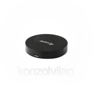 Equip-Life Telefon töltő - 245500 (Vezeték nélküli, USB, 5W, fekete) Tablet
