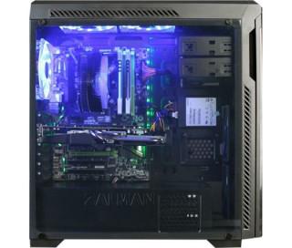 HÁZ ZALMAN Z9 NEO Plus (Black) Blue Led PC