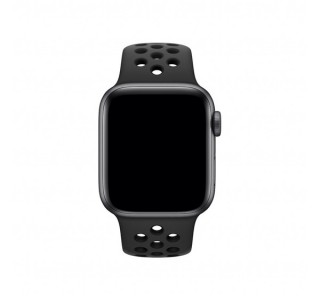 Apple Watch 38/40mm Nike sportszíj, antracit-fekete Több platform