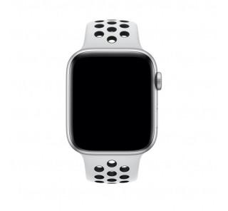 Apple Watch 42/44mm Nike sportszíj, platinaszín-fekete Több platform