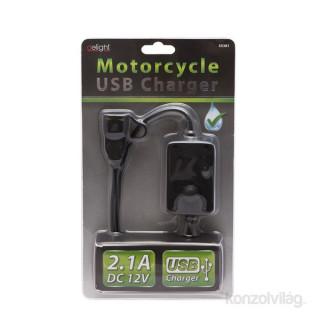 Delight USB töltő motorkerékpárokhoz PC