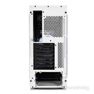 Fractal Design Focus G Fehér ablakos (Táp nélküli) ATX ház PC