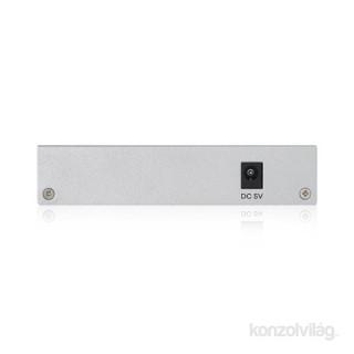 ZyXEL GS1200-5 5port GbE LAN web menedzselhető asztali switch PC