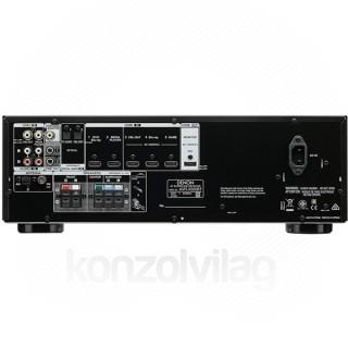 Denon AVR-X550BT 5.2 fekete házimozi erősítő PC