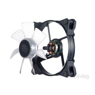 Cooler Master JetFlo 120 120x120x25mm 2000RPM fehér LED-es ház ventilátor PC