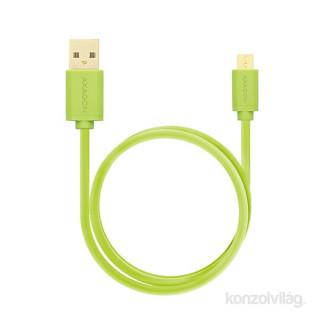 Axagon BUMM-AM15QG USB 2.0 A - micro USB 2.0 B 1,5 m zöld kábel PC