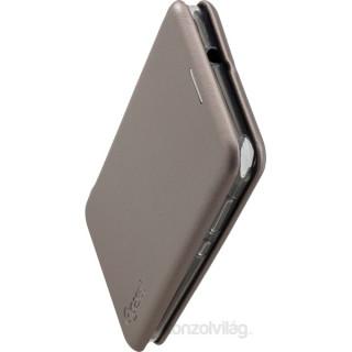 Gigaset C116 GS185 book oldalra nyíló ezüst tok PC