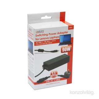 Delight 55361 Univerzális Lenovo laptop/notebook töltő adapter tápkábellel PC