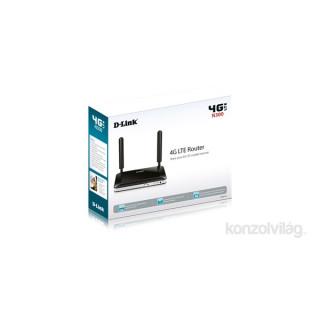 D-Link DWR-921/E 4port FE LAN LTE Router SIM kártya foglalattal PC