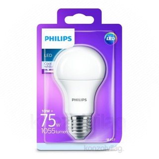 Philips LED 75W A60 E27 CW 230V FR ND 1BC/4 alap izzó PC