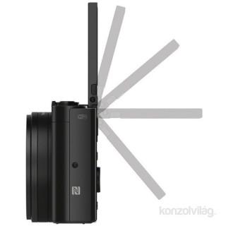 Sony DSC-WX500B fekete digitális fényképezőgép Fényképezőgépek, kamerák