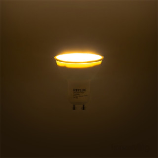 Retlux RLL 253 5W 2700K GU10 meleg fehér LED spot spot PC
