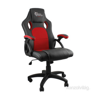 White Shark KINGS THRONE piros/fekete Gamer szék PC