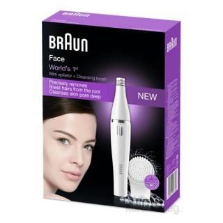 Braun SE810 arcepilátor és arctisztító Otthon