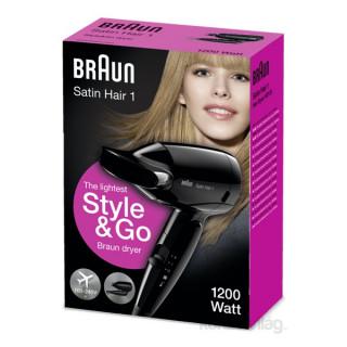 BRAUN HD 130 Style&go hajszárító Otthon