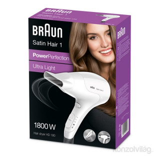 Braun HD 180 hajszárító Otthon