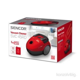 Sencor SVC 45RD piros padlóporszívó Otthon