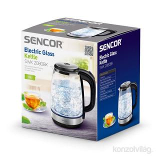 SENCOR SWK 2080BK 2L üveg vízforraló Otthon