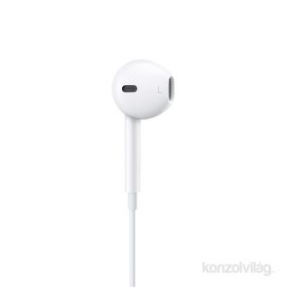 Apple Earpods fülhallgató távvezérlővel és mikrofonnal (Lightning csatlakozó) PC
