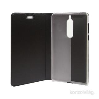Cellect BOOKTYPE-NOK-5-BK Nokia 5 fekete oldalra nyíló flip tok PC