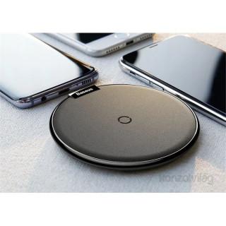 Baseus Desktop Qi iPhone X ezüst asztali vezeték nélküli töltő Mobil