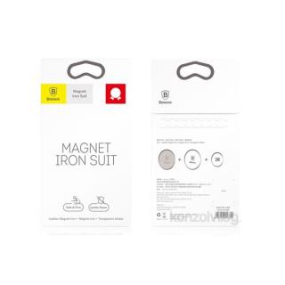 Baseus Magnet iron Suit 2 db ezüst mágneskorong autós tartóhoz PC