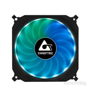 Chieftec CF-3012-RGB 120x25mm 750-1200RPM 3 darab sikló csapágyas RGB LED rendszerhűtő PC