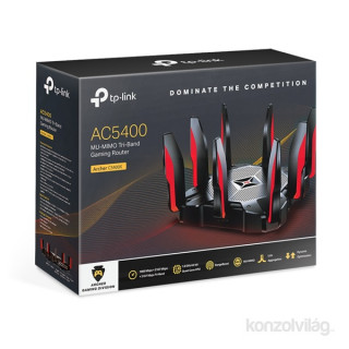 TP-Link Archer C5400X MU-MIMO Tri-Band Vezeték nélküli Gaming Router PC