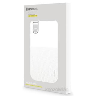 Baseus Thin 10000mAh vezeték nélküli fehér power bank PC
