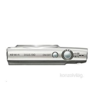 Canon IXUS 190 ezüst digitális fényképezőgép Fényképezőgépek, kamerák
