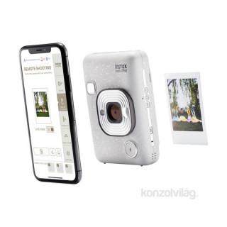 Fujifilm Instax Mini LiPlay fehér hibrid fényképezőgép Fényképezőgépek, kamerák