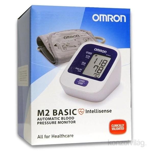 Omron M2 BASIC intellisense felkaros vérnyomásmérő PC..