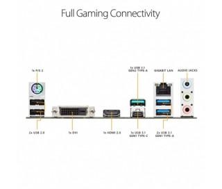 ASUS TUF B450M-PLUS GAMING AMD B450 SocketAM4 mATX alaplap PC