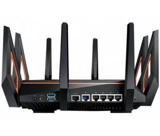 Asus ROG RAPTURE GT-AX11000 AX11000 Mbps Tri-band WiFi 6 gigabit AiMesh OFDMA gaming Wi-Fi router PC