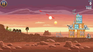 Angry Birds Star Wars PS Vita