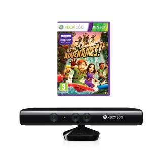 Xbox 360 Kinect mozgásérzékelő szenzor + Kinect Adventures Xbox 360