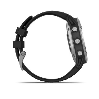 GARMIN Fenix 6X Pro fekete, fekete szilikon szíjjal 010-02157-01 Mobil