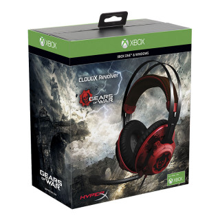 HyperX Cloud Revolver - Gaming Headset Gears of War Edition Több platform