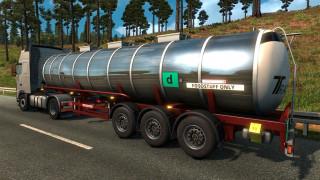 Euro Truck Simulator 2 – Schwarzmüller Trailer Pack DLC (PC) Letölthető PC